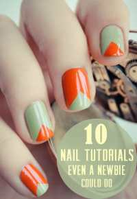 10 Easy Nail Tutorials   Pretty Prudent