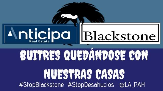 La PAH vuelve a la carga en defensa de las familias afectadas por la extorsión de Anticipa/Blackstone.