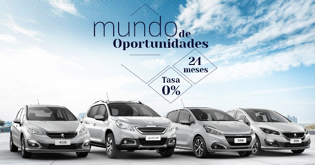 Oportunidades | Peugeot | presenta conveniencias financieras