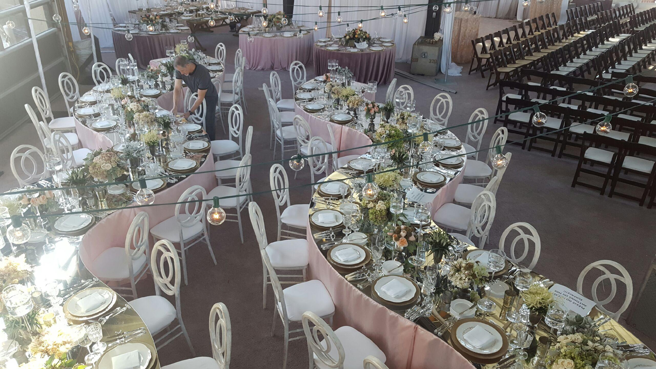 Acrylic Mirrored Table Toppers  Rochester MI  Pruett