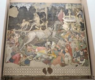 The Triumph of Death (mid-15th C fresco, unk.)
