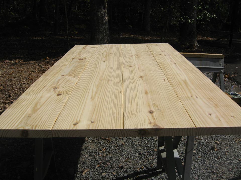 Rustic Table Top Pruiett And Sons Woodworkers