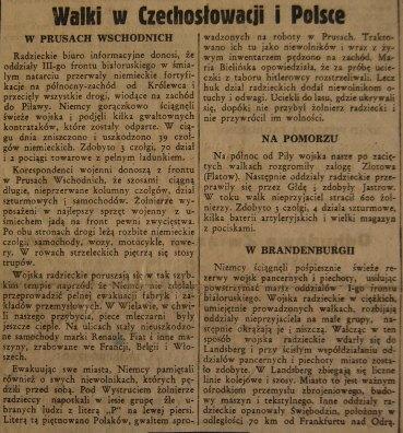 Rzeczpospolita nr 32 (piątek), 02.02.1945.