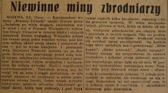 Rzeczpospolita nr 59 (niedziela), 04.03.1945.