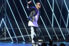 Rapper AKA performing at the SAMA awards in Sun City. Picture Credit: Bafana Mahlangu