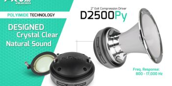 """New Release: D2500Py - 2"""" Exit Polyimide Driver"""