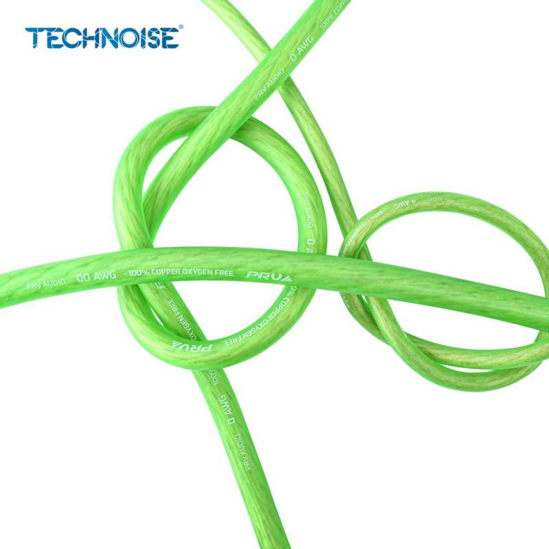 00AWG,-0AWG,-4AWG---NEON-GREEN---Knot-View