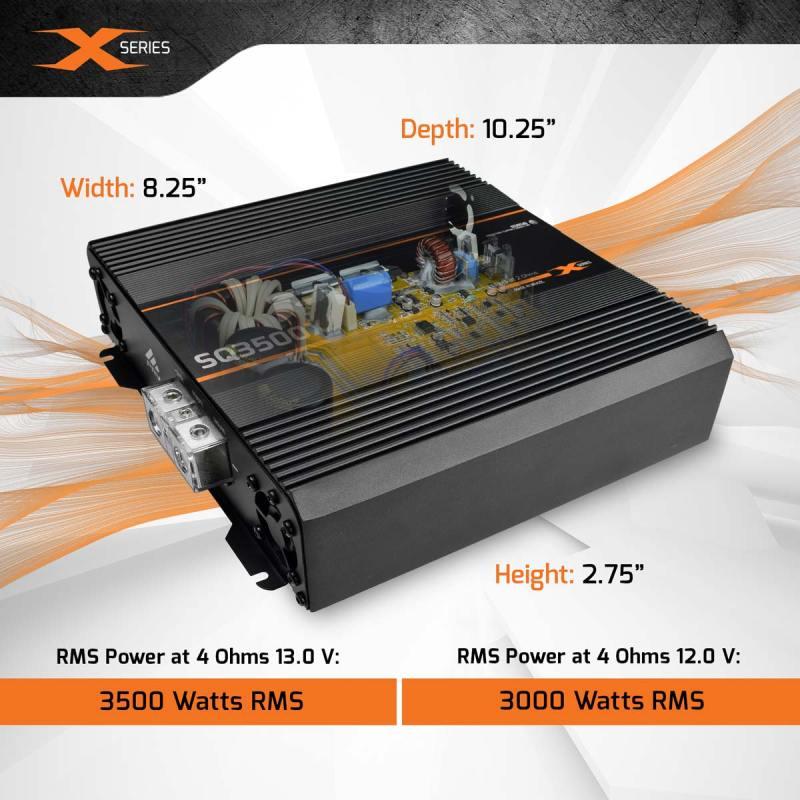 SQ3500X---4-Ohms---Power-+-Dimensions