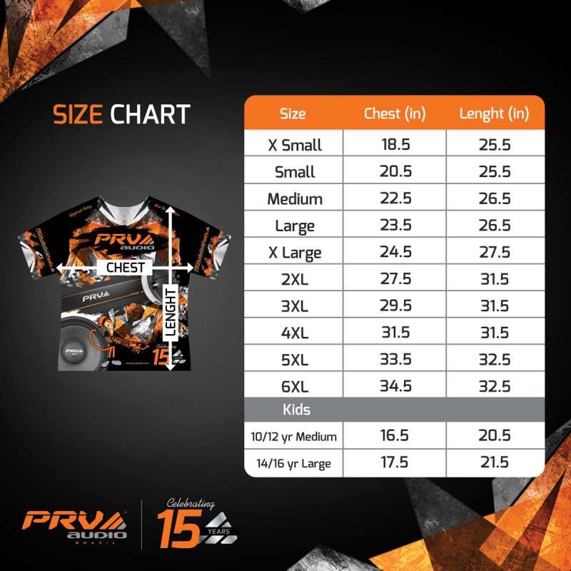 PRV-PRO-Audio-on-Wheels-t-shirt---SIZE-CHART