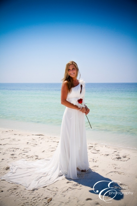 Real Princess Weddings Katherine and Johnny  Panama City Beach Weddings in Florida