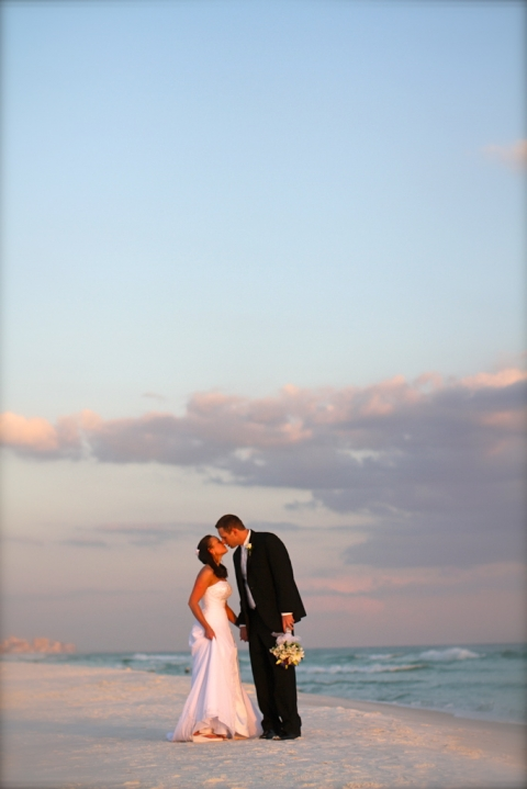 Real Destin Beach Weddings Mindy and Justin  Panama City