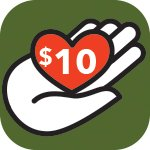 Support PRWC Donate Today 10 Dollars