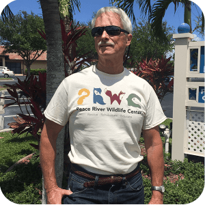 Unisex Adult Tan T-Shirt PRWC Color Logo