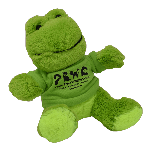 Branded Plush Animals Frog