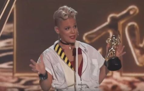 Pink Empowers Young Girls at VMA