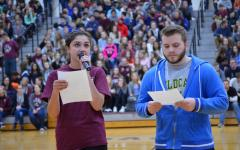 Spring Honors Assembly Includes Celebrations and Volleyball