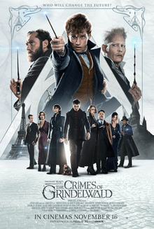Fantastic Beasts: the Crimes of Grindelwald | theatrical release poster