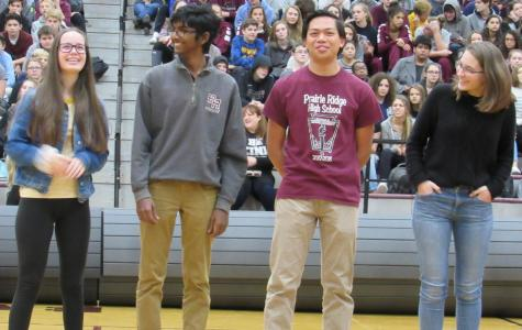 Fall Recognition Assembly Features Sports Teams, Activities