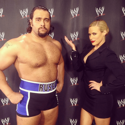 Image result for WWE Rusev and Lana