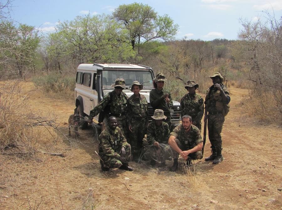 Black Mambas Women Anti-poaching Unit - group-of-women-with-trainer
