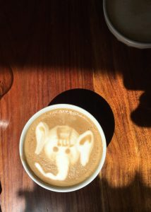 water-street-bistro-cappuccino-with-elephant-cream-design