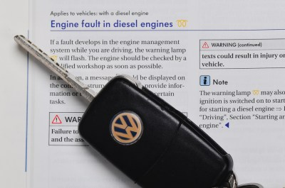 VW Emissions - Key with Note