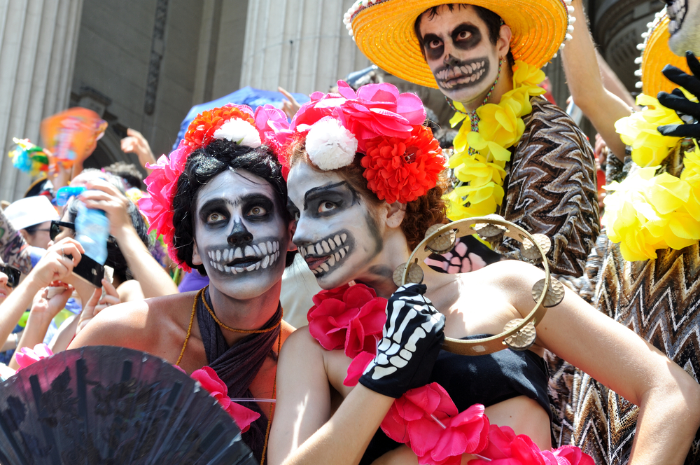 Day of the Dead - Revelers honor the Day of the Dead (Dia de los Muertos), one of Latin America's most beloved holidays and most strongly associated with Mexico