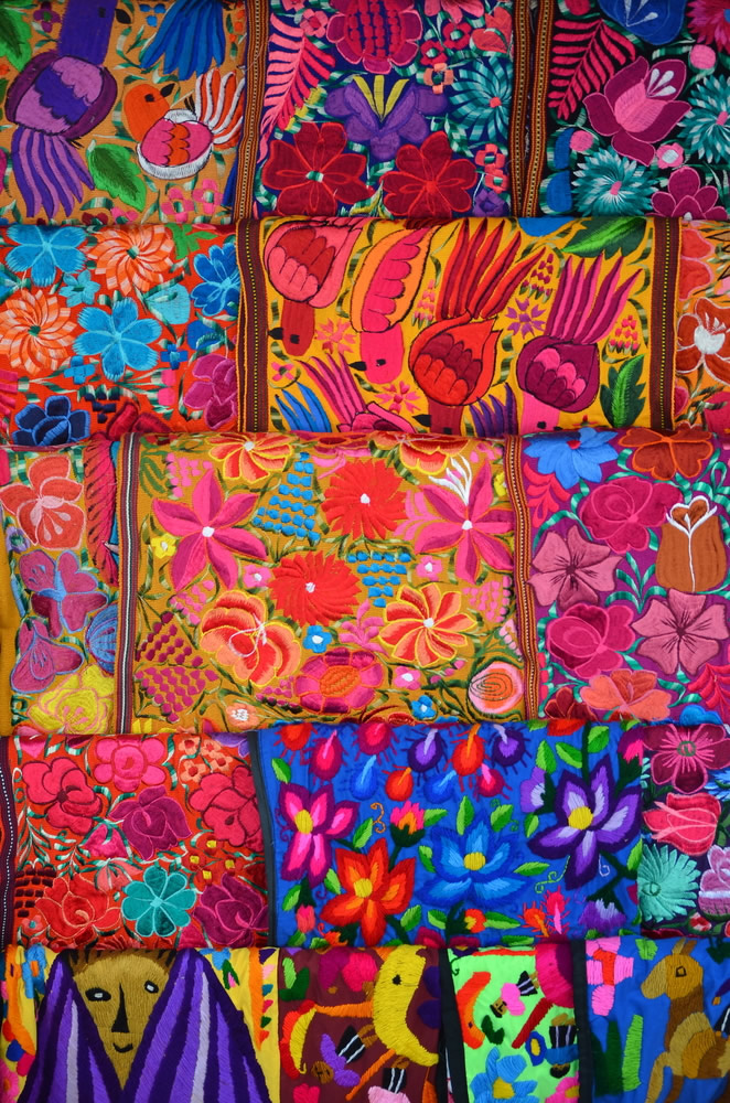 Thanksgiving in Mexico - colorful-stitching