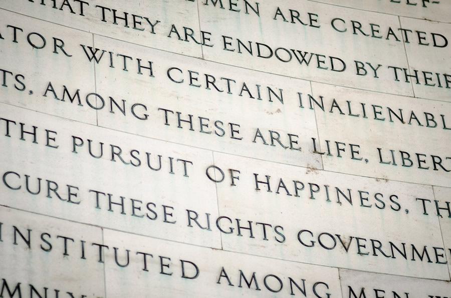 Words Matter - jefferson memorial constitution