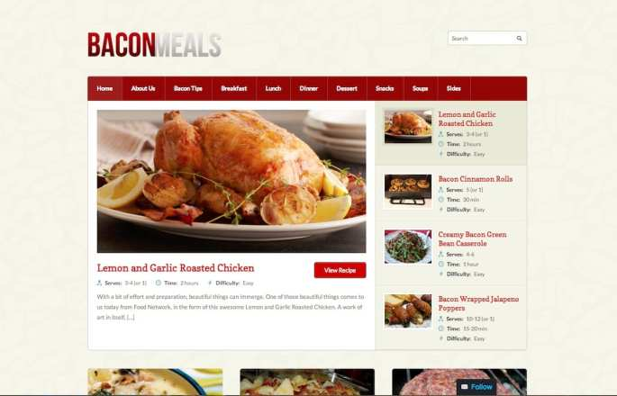 BaconMeals-screen