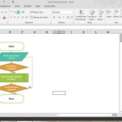 Cash Flow Diagram Creator 30 Amp Twist Lock Plug Wiring Creating A Flowchart In Excel Pryor Learning Solutions