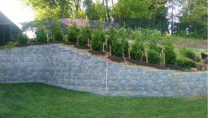 University of Maryland - Towson Living Fence Installation