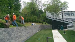 UMD Living Fence Installation