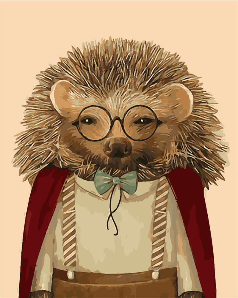 Abstrakcyjnym Zwierz Ciem Malowanie Numerami Ubrany Je W Okulary Malowanie Rysunek Numerami Bez Ramki Dekoracje Cienne.jpg Q50