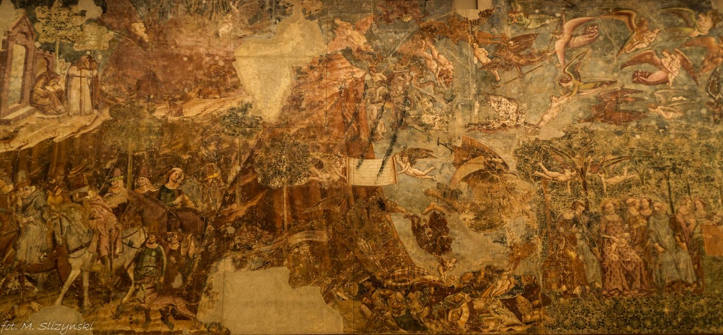Piza - cmentarz Camposanto freski
