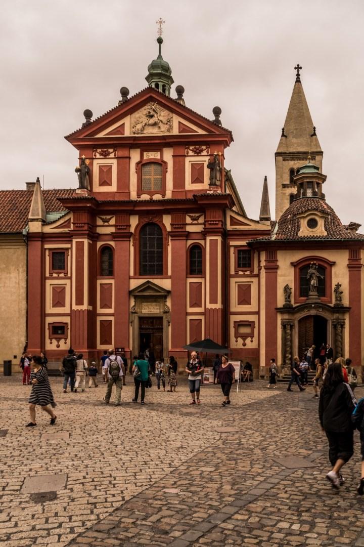 Praga - Bazylika św. Jerzego