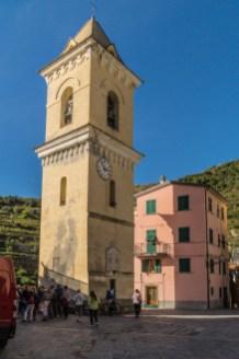 Cinque Terre - wieża zegarowa