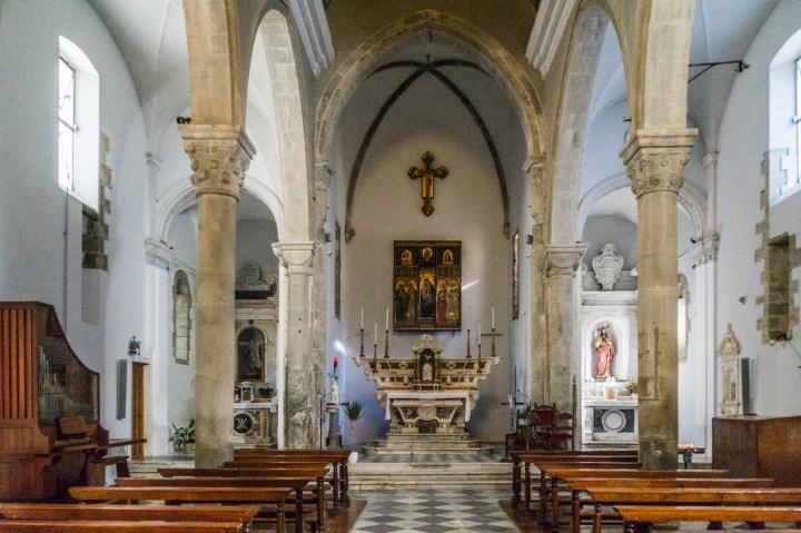 Manarola - Kościół św. Wawrzyńca