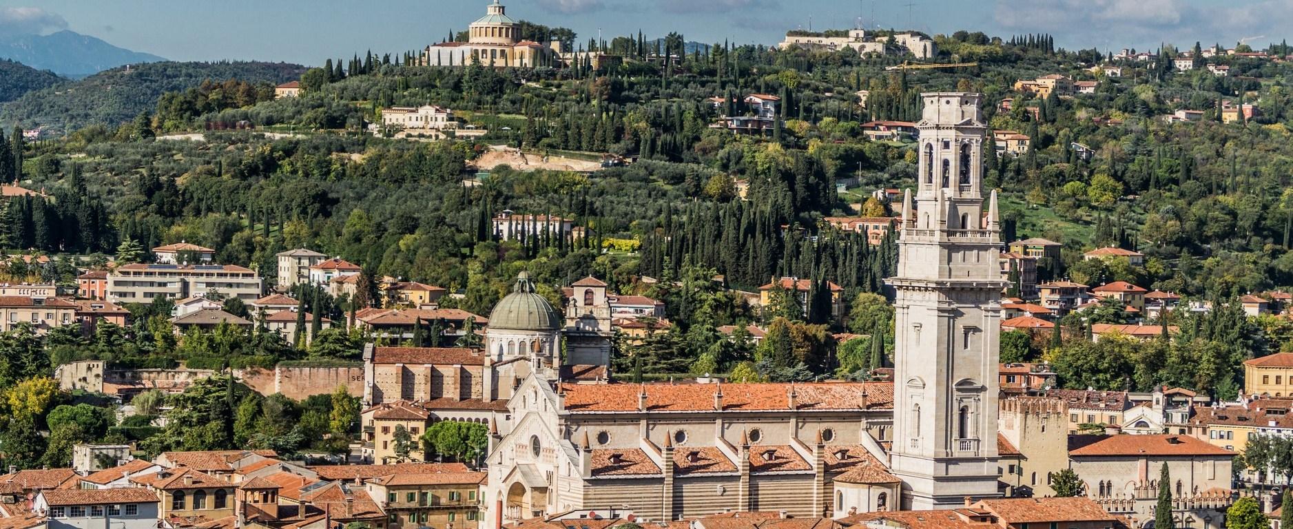 Dzień w Weronie - panorama