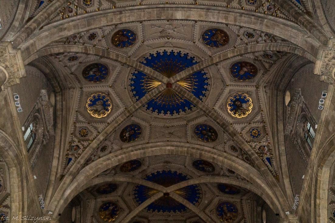 como - Katedra Wniebowzięcia NMP sklepienie