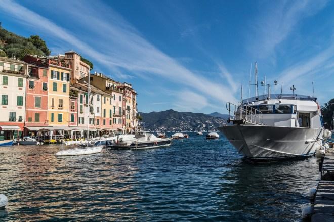 portofino - zatoka jachty