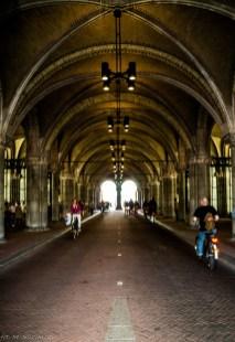 Amsterdam - takie tunele to rozkosz dla oka