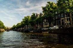Amsterdam - nad kanałami