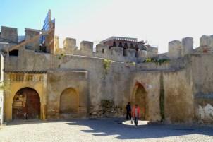 Tanger - stare mury miejskie
