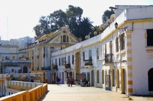 Tanger - nadbrzeże od strony portu