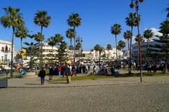 Tanger - spacer po parku