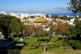 Tanger - chwila odpoczynku i podziwianie miasta