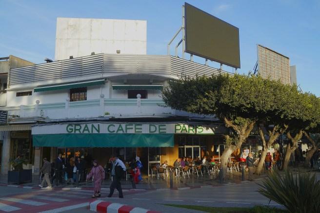 Tanger - Gran Cafe de Paris, kultowe miejsce