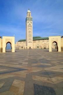 Casablanca - Meczet Hassana II