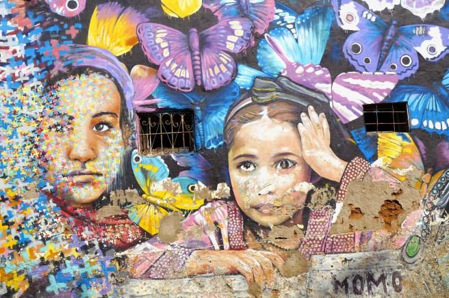 Casablanca - murale miejskie